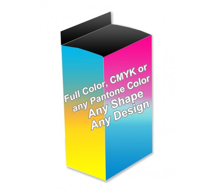Full Color - Five Panel Hanger Boxes