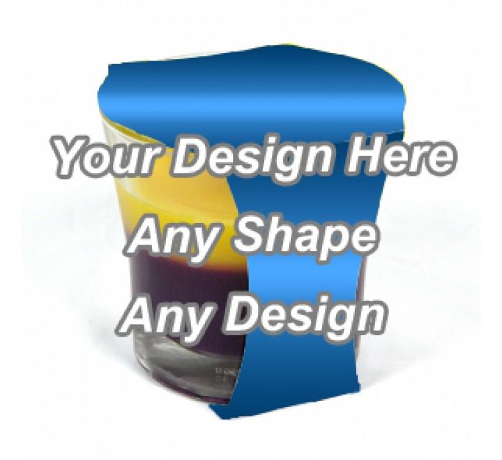 Gloss Laminated - Cup Jar Sleeve Packaging