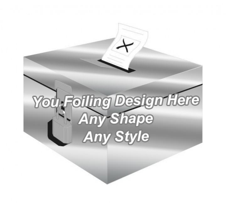 Silver Foiling - Ballot Boxes