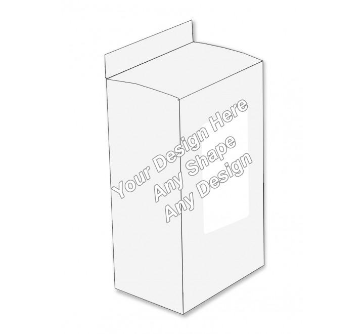 Window - Hair Serum Packaging Boxes