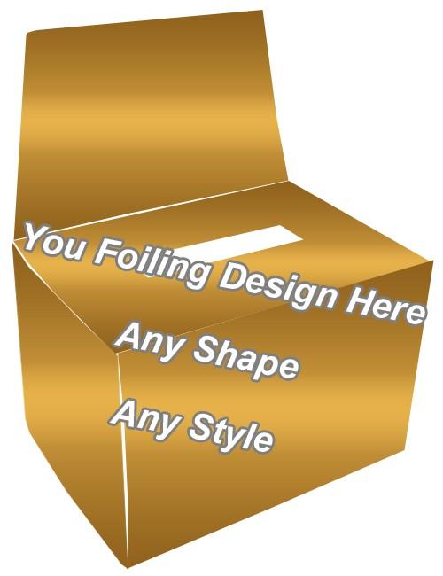 Golden Foiling -Bandage Packaging Boxes