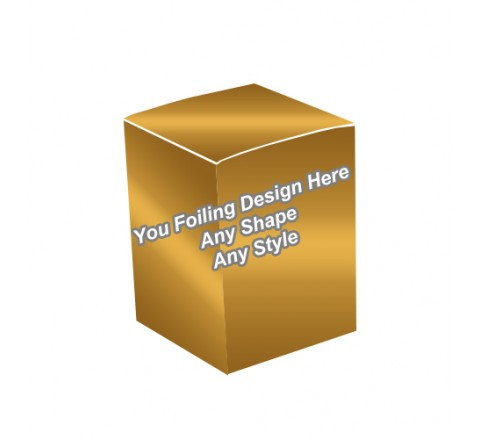 Golden Foiling - Candle Wrap Packaging