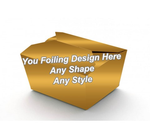 Golden Foiling - Food Packaging Boxes