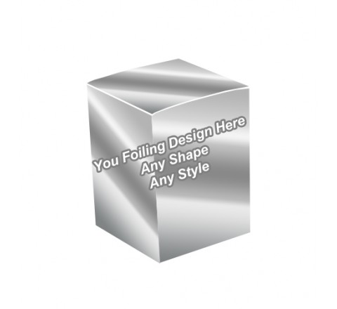 Silver Foiling - Candle Wrap Packaging