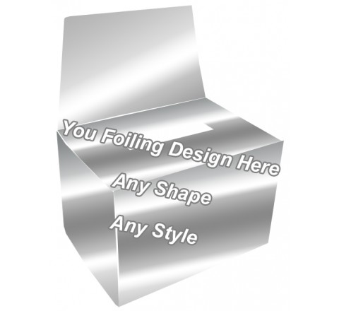 Silver Foiling - Bandage Packaging Boxes